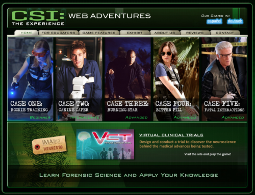 Forensic Games Online: Detective, CSI and Hidden Object Interactive