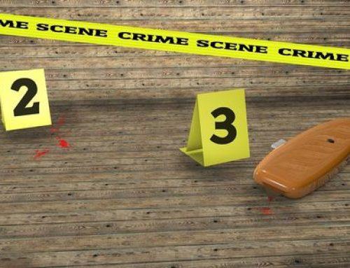 Setting Up A Classroom Crime Scene