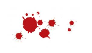 blood drip pattern