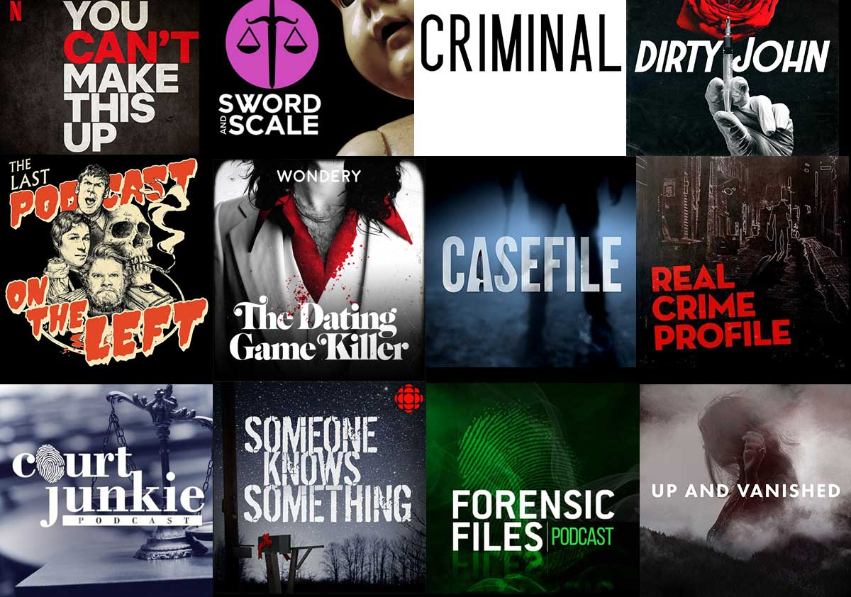 Best True Crime Podcasts Of 2020 True Crime Forensics Podcasts Games Books Latest News